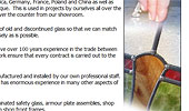 Birmingham Specialist Glass - Stained Glass, Tools & Restoration