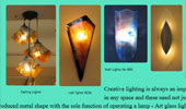 Glass and Lighting Studios - custom glass lighting commissions